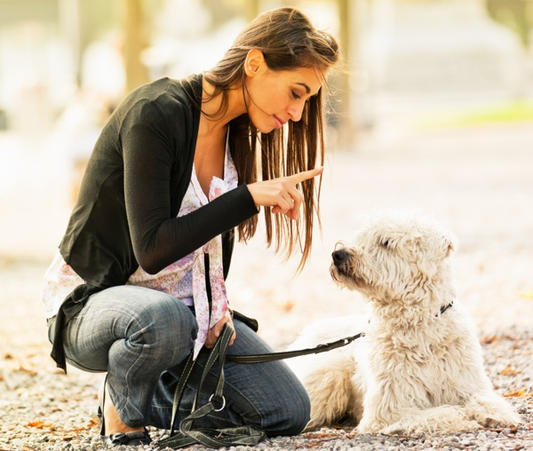 Post Pic of Girl with dog